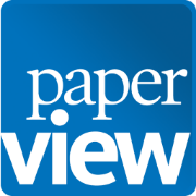 Paperview logo BW